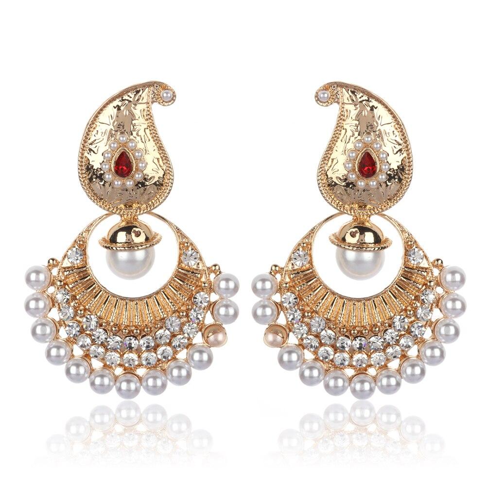 ShoppingHUB Get Closer New Bollywood Designer Fresh Arrival Peacock Drop Dangle Earring Fashion Jewlery