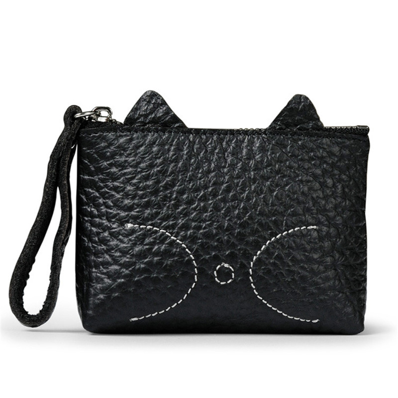 PACGOTH Casual Mini Wallets Unisex Genuine Leather Coin Purse Multi-functions Cow Leather Small Coin Cash Bags Kawaii Pouch 1 PC thin genuine leather men wallet small casual wallets purse card holder coin mini bags top quality cow leather carteira