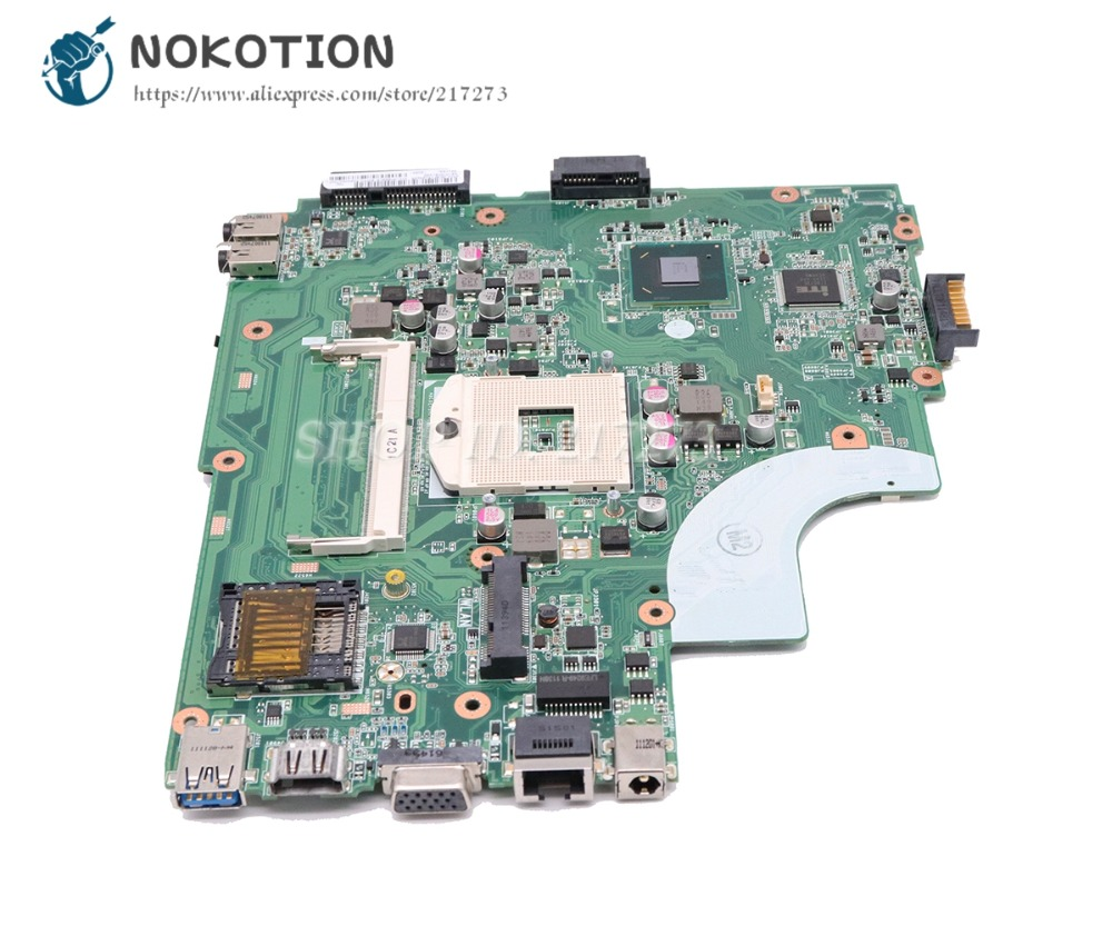 NOKOTION Laptop Motherboard For Asus X44H X84H K84L K43L Main Board Rev:3.1 DDR3 HM65