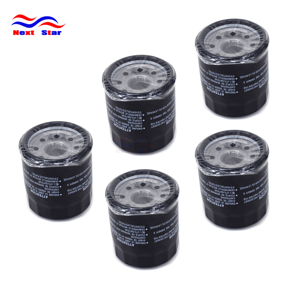 5PCS Engine Oil Filter Cleaner For <font><b>YAMAHA</b></font> <font><b>YFM</b></font> 350 <font><b>400</b></font> 450 550 660 700 F 15 20 25 40 50 60 70 FX 2008 VX 08-12 FZ6 FZ6R XJ6 image