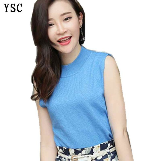 Yunshucloset 2017 Spring New Pattern Fashion Ladies Knitted Cashmere