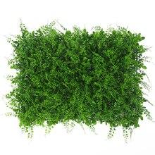 40x60 см Искусственный пейзаж газон декоративные растения ложный газон Ландшафтная стена трава для Рождества Свадьба Сад поддержка дома