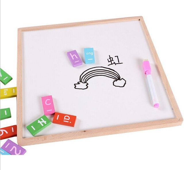 Online Shop Wooden Montessori educational toy maths Dominoes ...