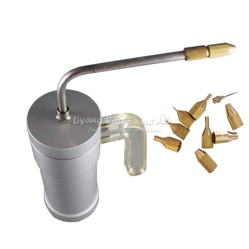 LY liquid nitrogen gun 300ml 500ml with cold tip 9 pcs needle tip 1 pc with original suitcase