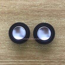2x2W 4ohm / 8ohm 28mm tam frekanslı mini hoparlör yuvarlak ultra ince Bluetooth DIY