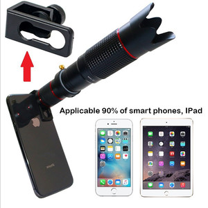 Image 2 - 4K HD 36X אופטי טלסקופ זום טלפון מצלמה עדשת טלה עדשה עבור iPhone Huawei Xiaomi Smartphone עדשות lente para celular