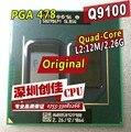 Q9100 procesador cpu del ordenador portátil Intel original 2.26 GHz/12 MB/1066 MHz PGA478 scrattered piezas Para PM45 GM45 qx9300 q9000 q9200