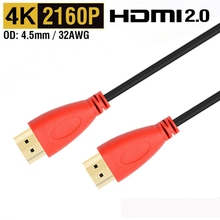 HDMI Cable 4K HDMI 2.0 Cable converter adapter connector cable for IPTV xbox 360 PS3 4 pro Box Nintend Switch Projector Cable