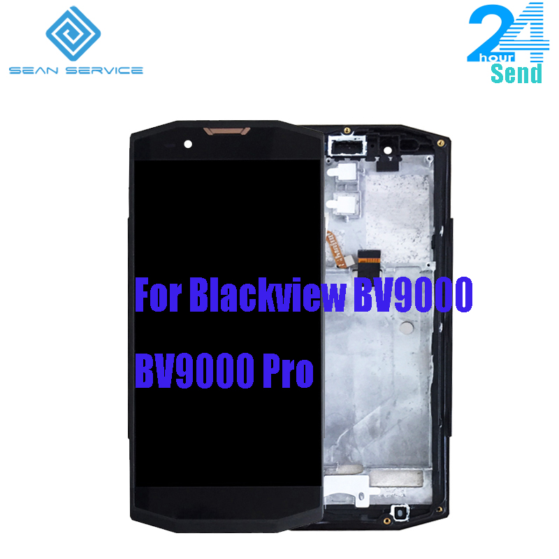 5.7 inch For Original BLACKVIEW BV9000 BV9000 Pro LCD +Touch Screen Digitizer with Frame Assembly Replacement HTT057F053-A05.7 inch For Original BLACKVIEW BV9000 BV9000 Pro LCD +Touch Screen Digitizer with Frame Assembly Replacement HTT057F053-A0