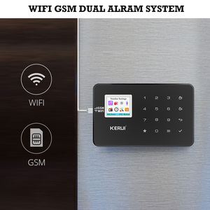 Image 2 - KERUI W18 GSM WIFI Alarm System Burglar Home Security APP Remote Control Motion Fire Smoke Detector Door Window Sensor DIY Kit