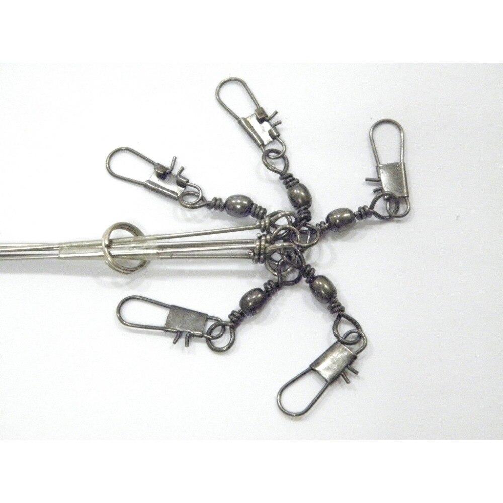 WLure 15,9 cm 14,2g Drahtdurchmesser 1mm 5 Arm Edelstahl Bein wirbel ...