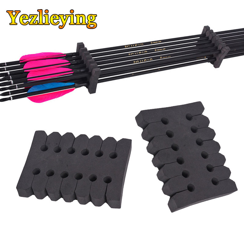 Hunting Bow Arrow Accessories 1/2/3pcs 12 Arrows Separator Protection Archery EVA Foam Round Rack Portable Arrow Holder