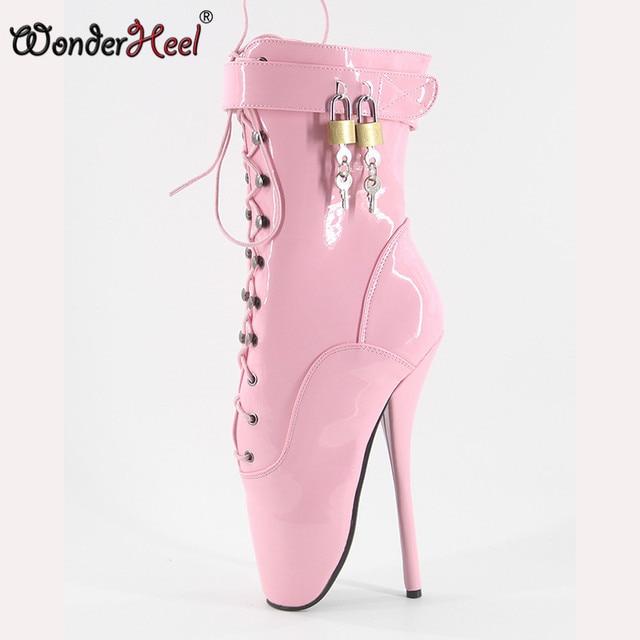 ebf01f4249bf Wonderheel On Sale Hot Extreme high heel 18cm 7