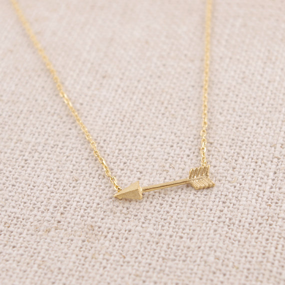 (10pcs/lot) Fashion Pendant Necklace sideways necklace arrow necklace hunger games necklaces gift wedding For Girl Wome