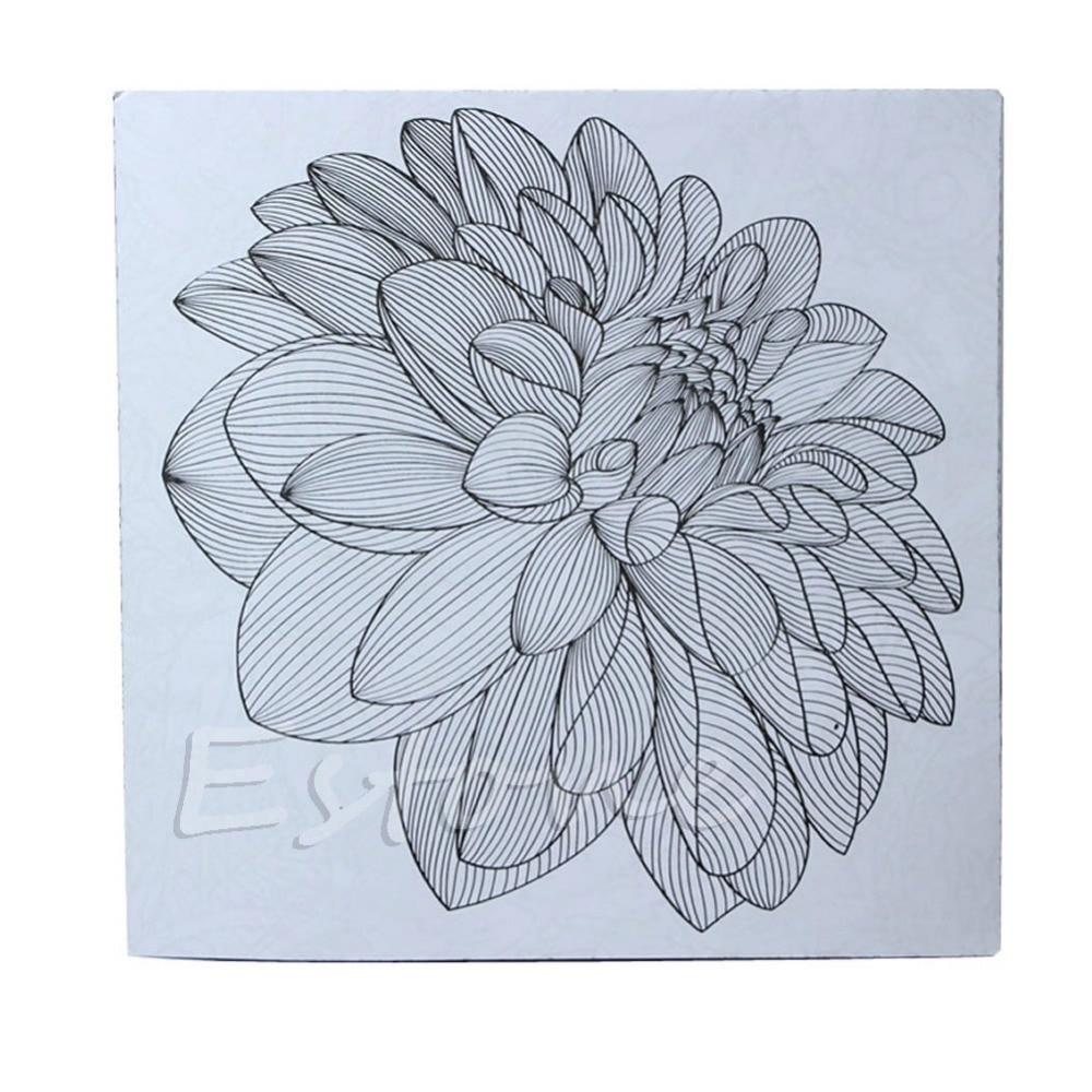 Graffiti Buku Mewarnai RAHASIA TAMAN Bunga Monogatari untuk Dewasa Anak Hadiah di Buku dari Kantor & Perlengkapan Sekolah AliExpress