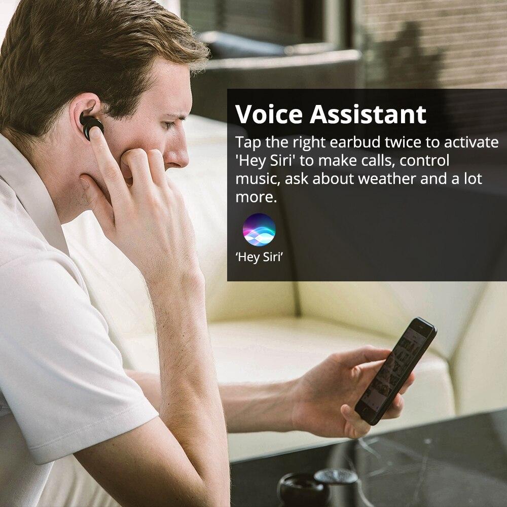 Tronsmart Encore Courageux Bourgeons écouteurs bluetooth Sans Fil Écouteurs stéréo sans fil Écouteurs IPX5 avec Mic pour Téléphones - 2
