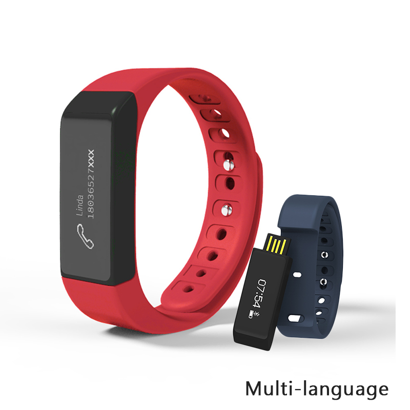 Yuntab New arrival 0 91 touch screen l5 Plus Smart sports bracelet and fitness tracker with