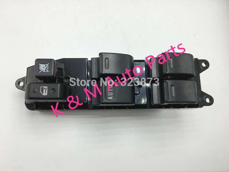 high quality Window Switch For 2003-2008 for TOYOTA COROLLA Window Switch Master driver side 8482012480 84820-12480 T-0-P