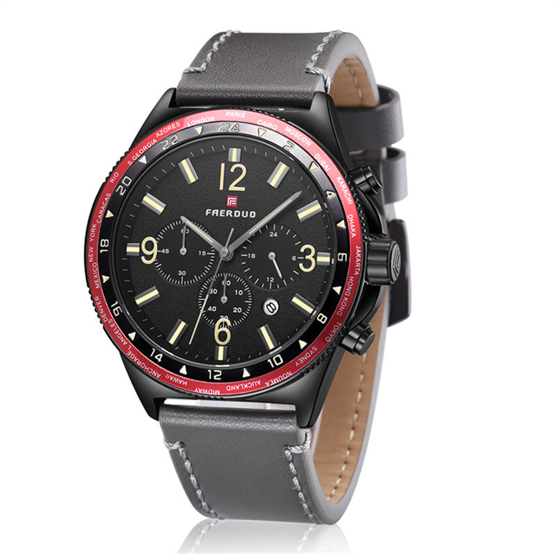 Fashion mens watch male student large dial waterproof luminous steel with quartz watch non-automatic mechanical watchFashion mens watch male student large dial waterproof luminous steel with quartz watch non-automatic mechanical watch