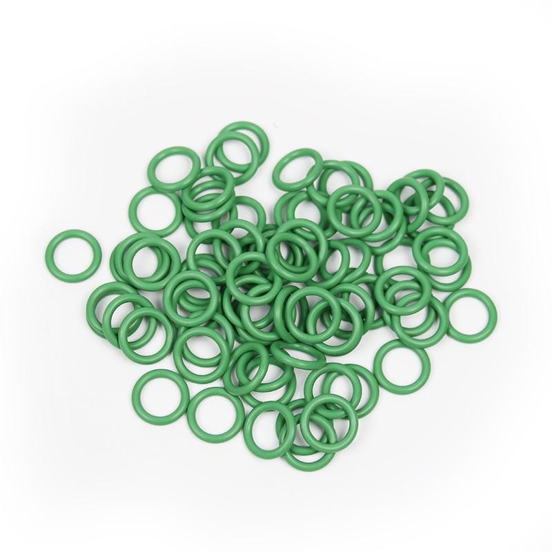 Flat Silicone Rubber O Ring Seal Gasket Flat Washers Seal Gasket Set ...