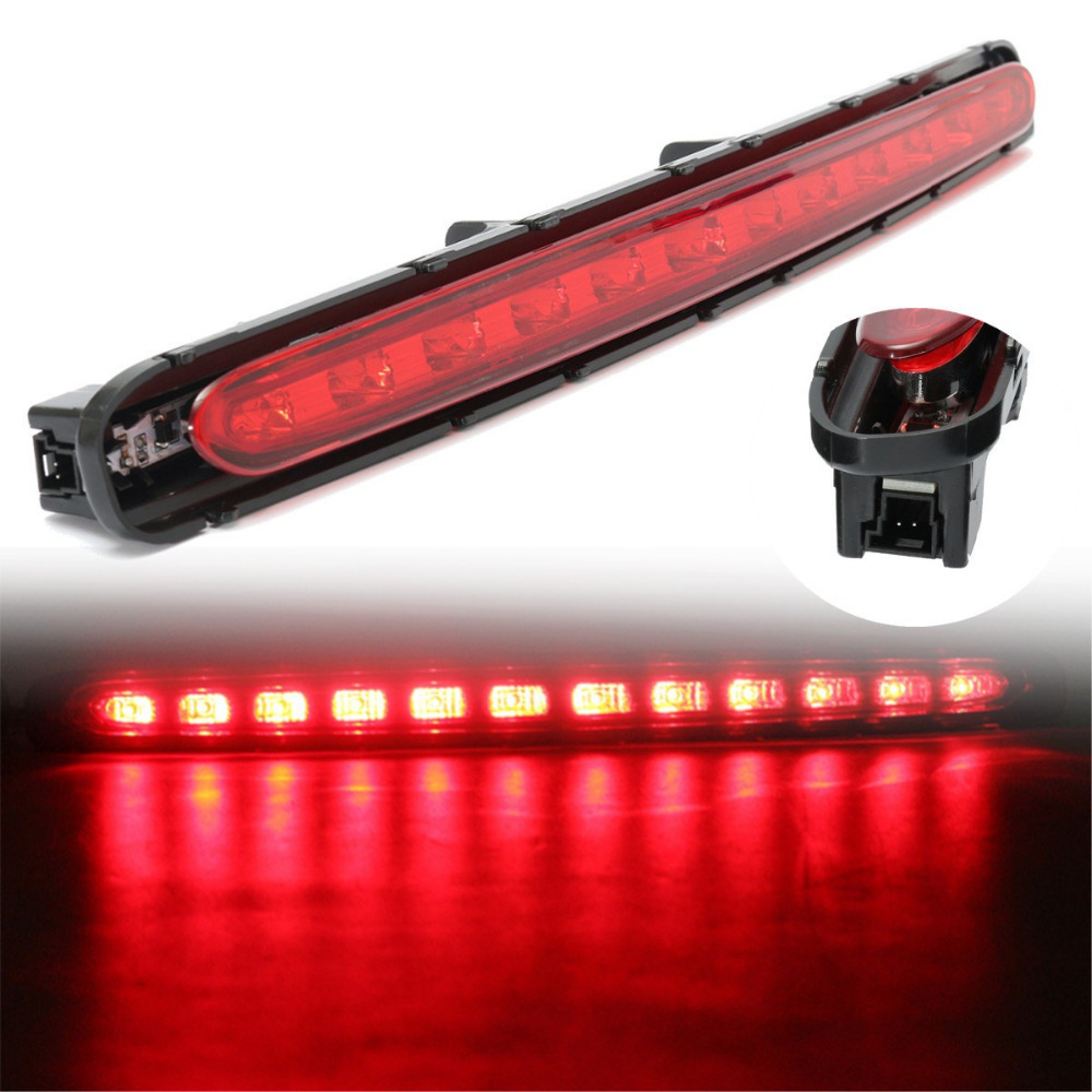LED Rear Strip Tail Third 3RD Stop Brake Turn Signal Light For Mercedes For Benz E-Class W211 03-09 Red Led Color grance rd 03