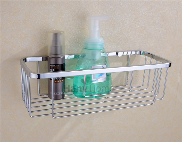 New bathroom accessories stainless steel wire corner shelf for Basket bathroom accessories