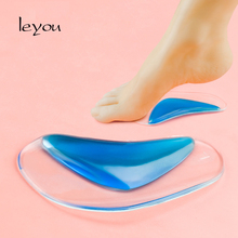 Leyou Children Flatfoot Corrector Silicone Gel Orthopedic Insoles Kids Arch Support Orthotic Pads Baby Shoe Sole