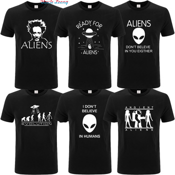 Ready For Aliens T Shirt UFO Take Away Your Heart Summer Tops Tee Homme 100% Cotton EU Size Tshirt More colors and sizes XS-4XL