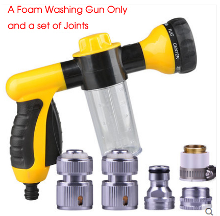 Upgraded Foam Car Washer Gun Water Guns Car Wash High Pressure carros Water Pistol carro Water Automotivo Garden Spray Head