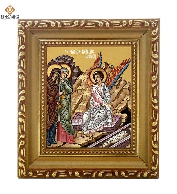 Venta directa de fábrica foto marco ruso Iglesia suministros ...