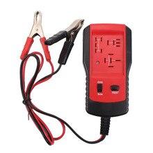 Универсальный 12 в автомобили прибор для проверки реле инструмент тестирования авто Батарея проверки точной диагностический портативный автомо