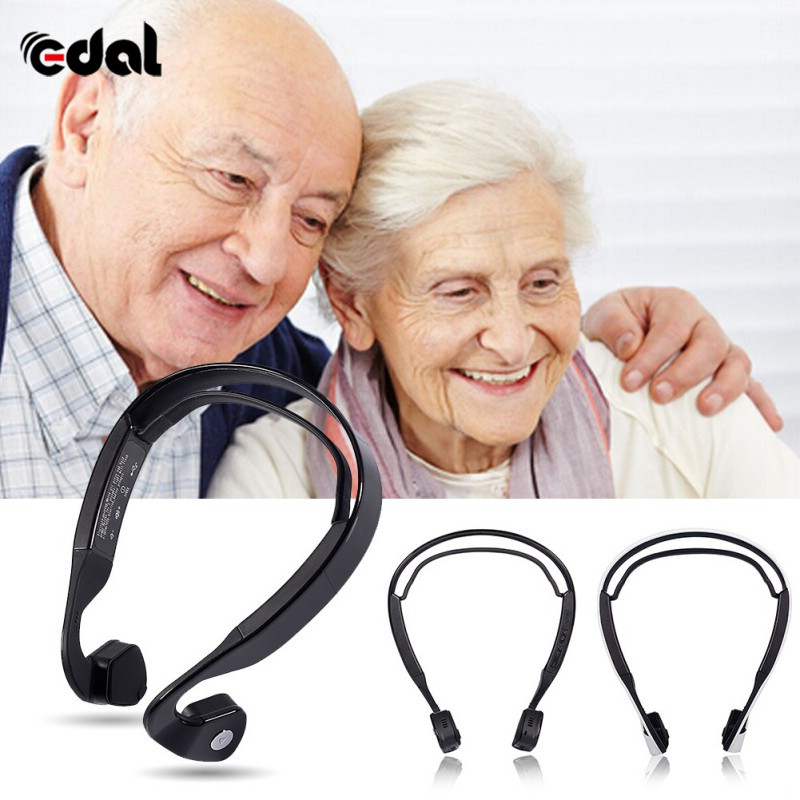 EDAL Exercise Wireless Bluetooth 4.0 Bone Conduction Wireless Stereo Headset Sports Headphone Help Old For Hearing Aid