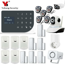 YoBang Security GSM GPRS Burglar Alarm System Intelligent Home APP Remote Control Socket Protection Household Appliances 433MHZ