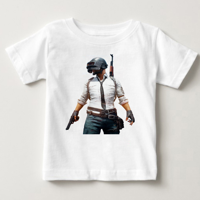 gaming playerunknowns battlegrounds pubg t-shirts children winner winner chicken dinner t shirt fashion videogames boys shirt MJ