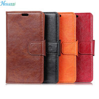 Howanni Flip Case For Huawei P20 Case 5 8 Inch Luxury PU Leather Wallet Stand Cover