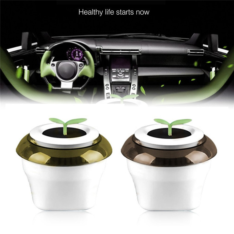 Portable USB Car Air Purifier Negative Ion Air Purifier Car Ionizer Anion Air Cleaner Office Home Flowerpot Freshener free shipping industrial electric instrument high anion car office toilet air purifier watered based from ohmeka