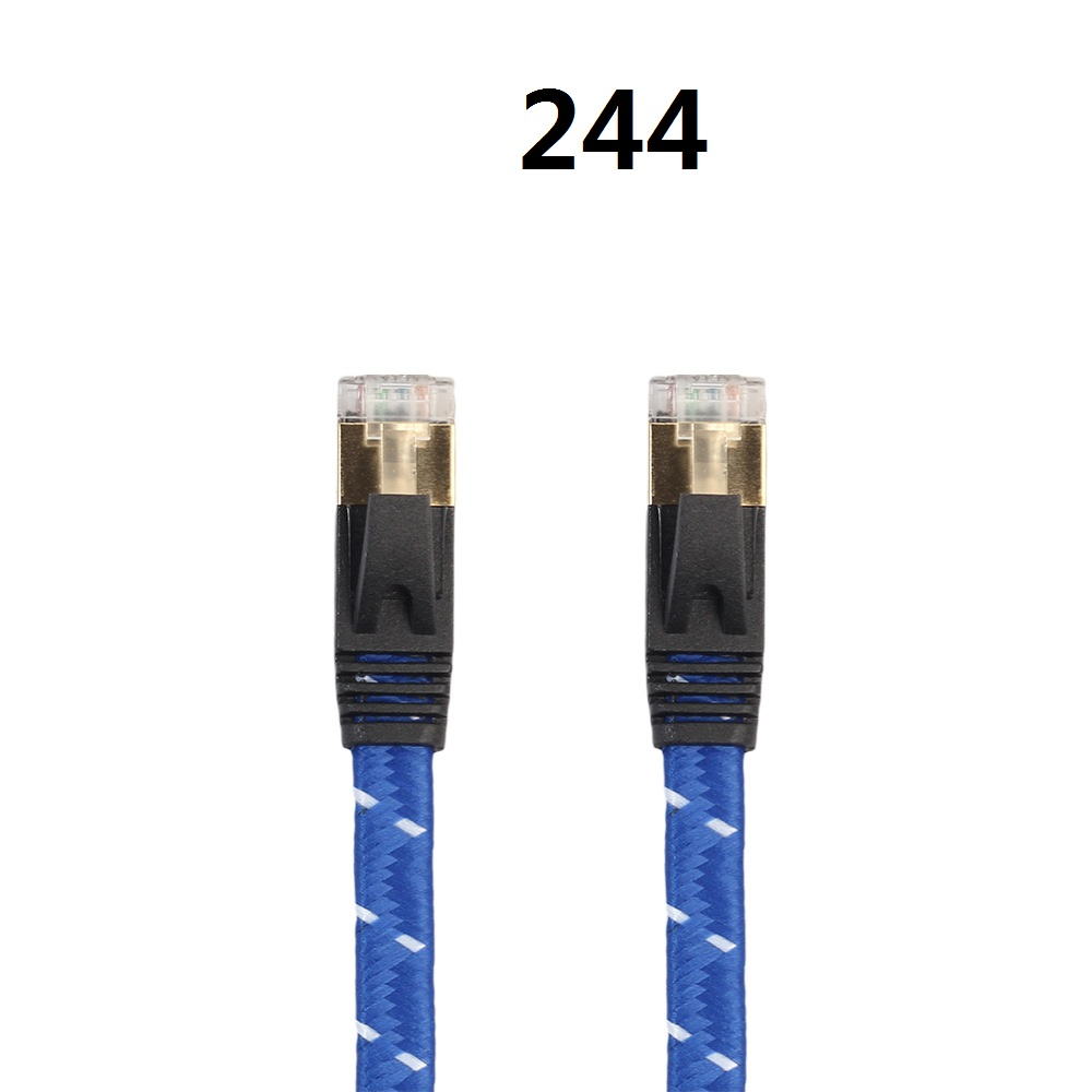 ABDO 2018 Cable High Speed 1000M RJ45 CAT6 Ethernet Network Flat LAN Cable UTP Patch Router Cables 8