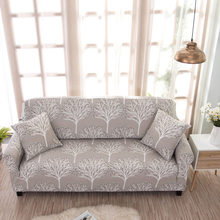 Furniture Sofas Cover Stretch for Living Room Capes on the Sofa Tight Couch Cover All-inclusive Wrap Sofa Cover Flower Slipcover(China)
