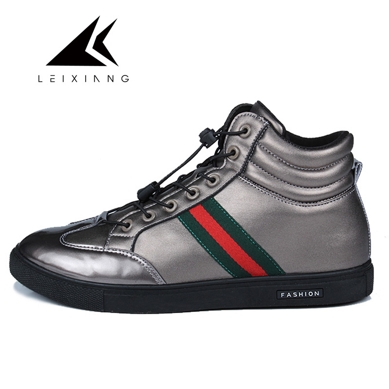 2017 Winter Waterproof Leather Skateboarding Shoes Men All Stan Super Zapatos Hombre Star Flat Comfortable Men's Sport Sneakers