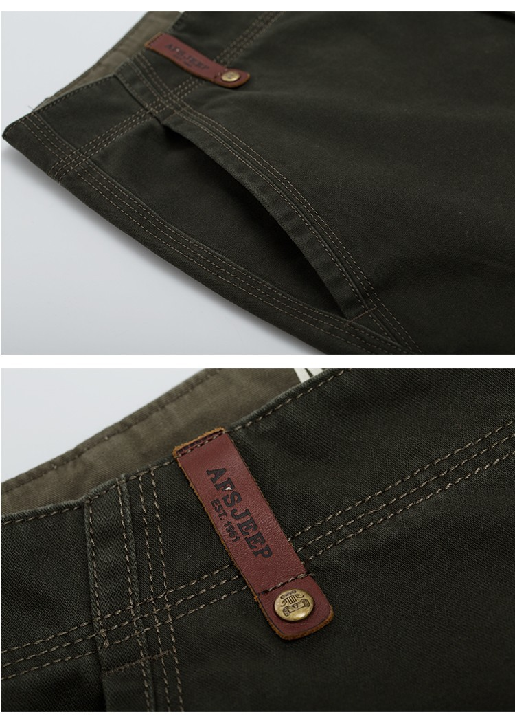 2015 Brand AFS JEEP Men New Pants Autumn Winter Cotton Cargo Casual Pants Pockets Fashion High Quality Mens Slim Pant Size 30~44 (18)