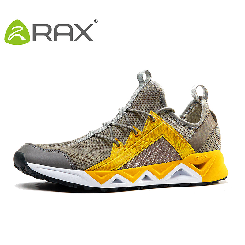 цена на RAX 2017 Men Breathable Aqua Shoes Quick Dry  Women Non Slip Mesh Upstream Water Shoes Light Hiking Shoes Summer Outdoor Sports