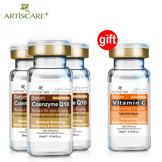 b52b3488321 Buy 3 Get 1 Gift ARTISCARE skin care coenzyme Q10 serum whitening and  minimize shrink pores reduce the signs of aging face cream