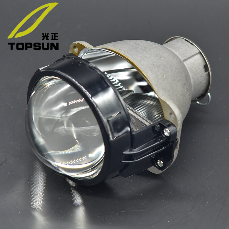 Car Light Kit 3.0 inch Q5 Bifocal projector lens Headlamp Bulb fit H7 HID,H7 LED,H7 halogen цена