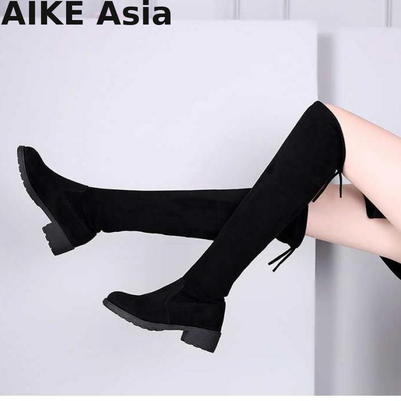 Size 35-41 New Hot Women Boots Autumn Winter Ladie