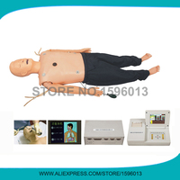 Medical ACLS Manikin with CPR Training and Trachea Intubation,First Aid manikin,Intubation Trainer