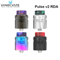 Original Vandy Vape Pulse V2 RDA Tank 2ML Floating Deck Atomizer for E Cigarette Mod Pulse Dual Mod VS VandyVape Pulse 24 BF RDA