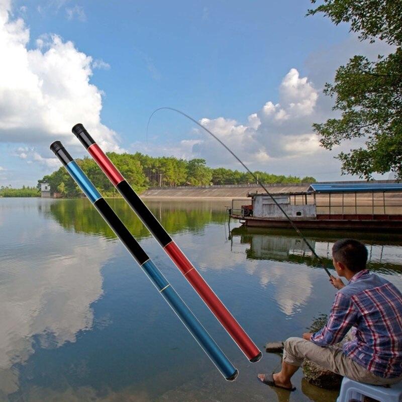 1,8 5,4 м телескопическая удочка из стекловолокна, регулируемая портативная удочка, рыболовные снасти, инструмент YS BUY|Удочки|   | АлиЭкспресс