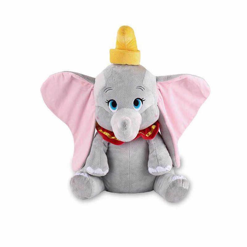 Мягкая детская слонс большими ушами игрушки 30 см мягкая плюшевая фигурка животного для детей Домашняя Подушка хлопковые игрушки 2019 мультфильм Дисней фильм Dumbo