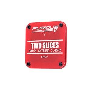 Image 5 - FuriousFPV 2.4GHz 8.6dBi dwa plastry łatka FPV antena LHCP/RHCP dla RC FPV wyścigi Drone modele część zamienna DIY Accs