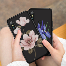 ASINA Flower Case For Xiaomi Mi A2 Lite Silicone Cover 3D Relief Shockproof Bumper 8 Phone Cases